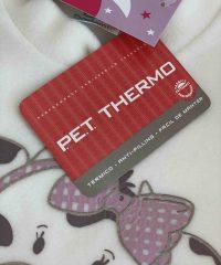 Pijama Infantil Feminino Dadomile - MicroSoft PET Thermo - Gatinha by AtHome Loja
