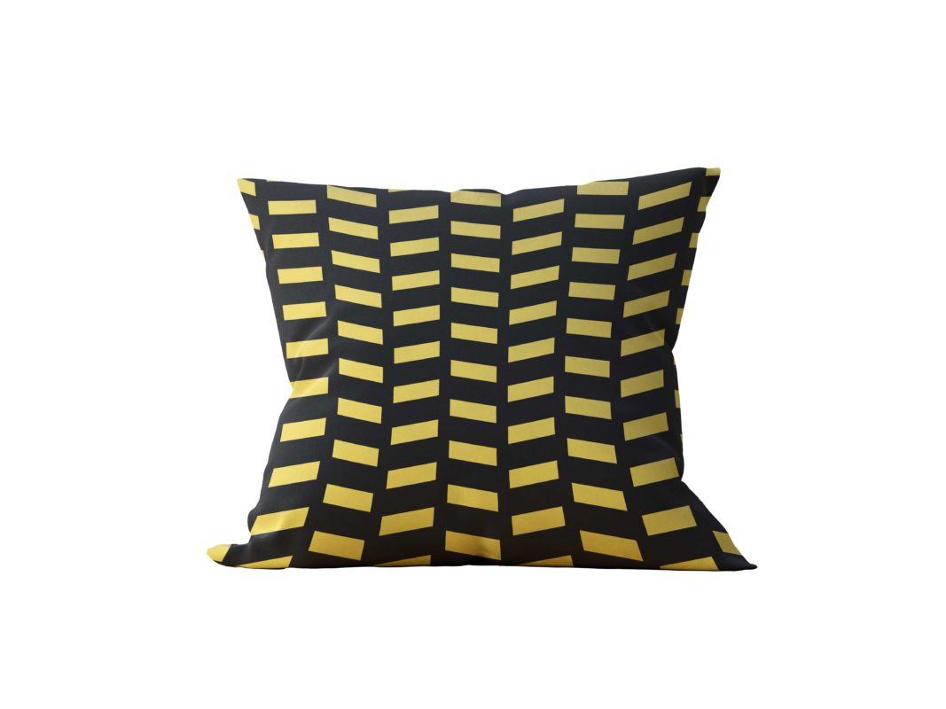 Almofada Decorativa Black & Gold - 45x45