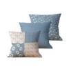 Kit com 3 Almofadas Decorativas Patch & Vida - 45x45 - by #1 AtHome Loja