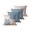 Kit com 4 Almofadas Decorativas Patch & Vida - 45x45 - by #1 AtHome Loja