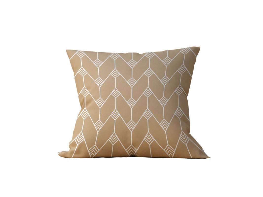 Almofada Decorativa Geométrica Gilded - 45x45