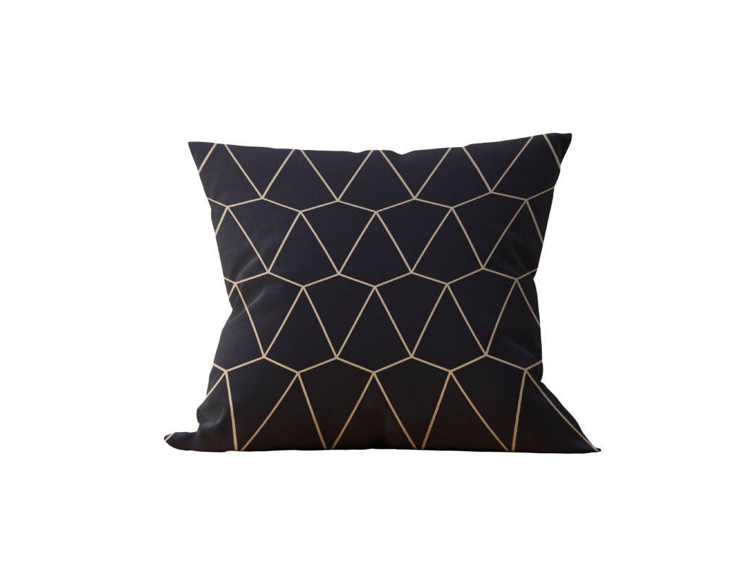 Almofada Decorativa Geométrica Iswed - 45x45
