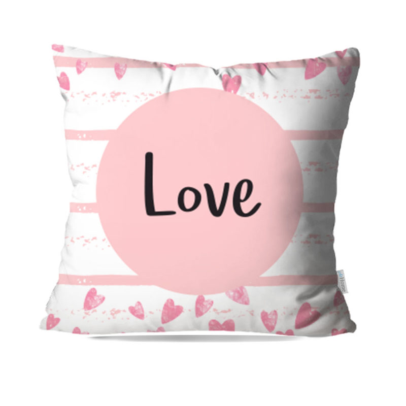 Capa de Almofada Decorativa Love - 45x45