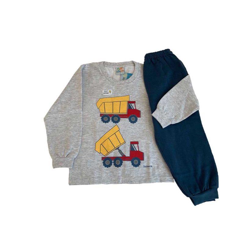 Pijama Infantil Moletinho - Truck – Dadomile