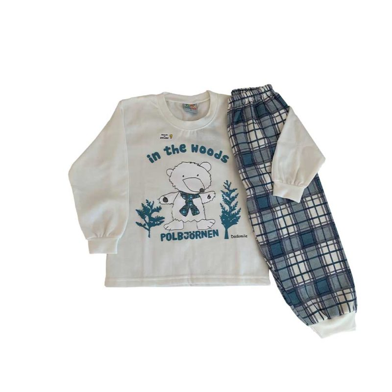 Pijama Infantil Moletinho - In the Woods - Dadomile