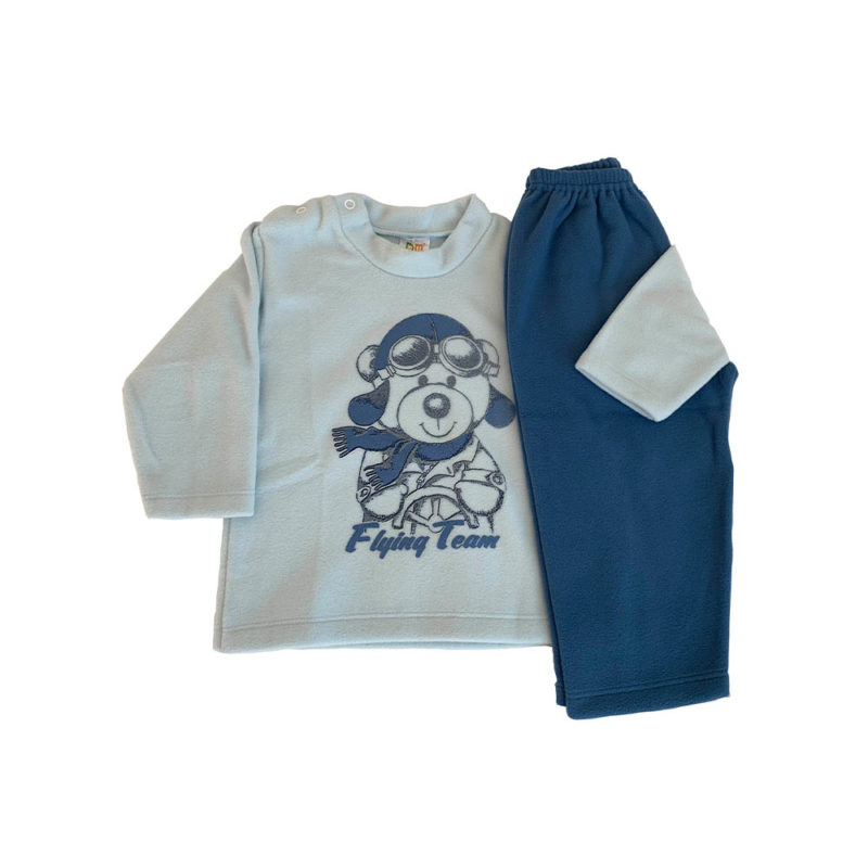 Pijama Infantil Soft - Flying Team - Dadomile