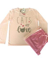 Pijama Adulto Love - AtHome Loja