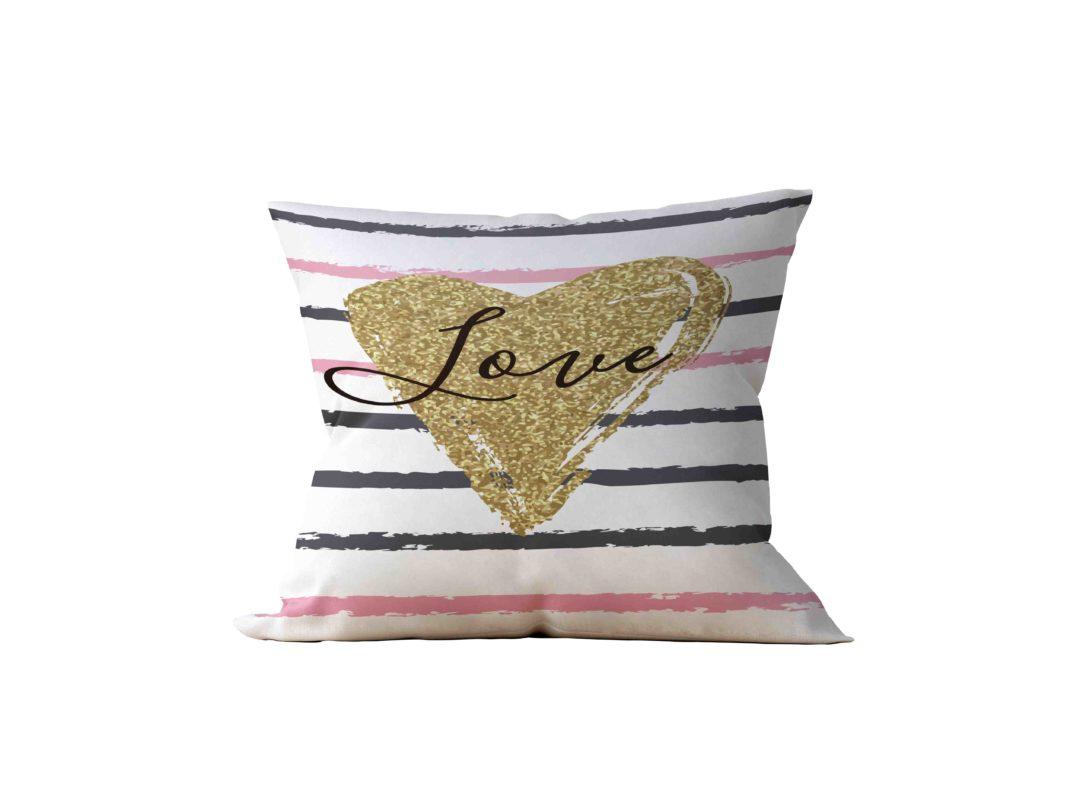 Almofada Decorativa HeartLove - 45x45