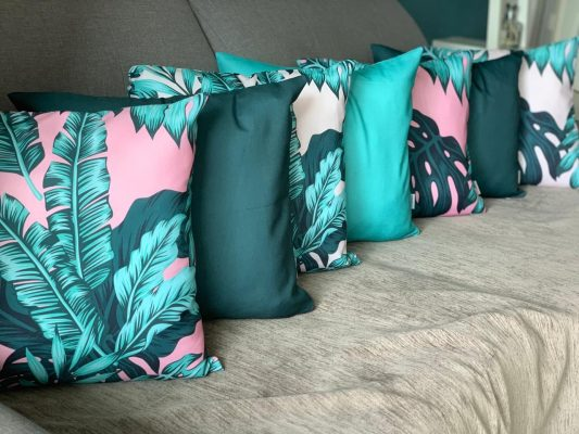 Kit de Estampas para Sofa Decorativas Baratas Costela de Adao