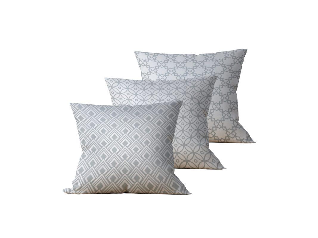 Kit: 3 Almofadas Decorativas Peri - 45x45
