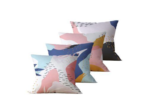 Kit: 4 Almofadas Decorativas Memphis - 45x45